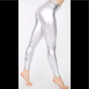 🆕 AMERICAN APPAREL METALLIC LEGGINGS 🆕